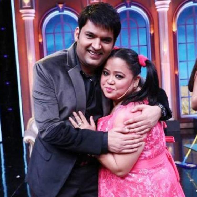 Kapil Sharma and Bharti Singh's BTS interview session on The Kapil Sharma Show sets will crack you up; WATCH