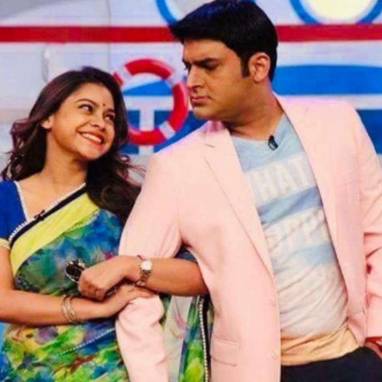 Kapil Sharma sends lots of love and best wishes to co star Sumona Chakravarti on her birthday; See POST