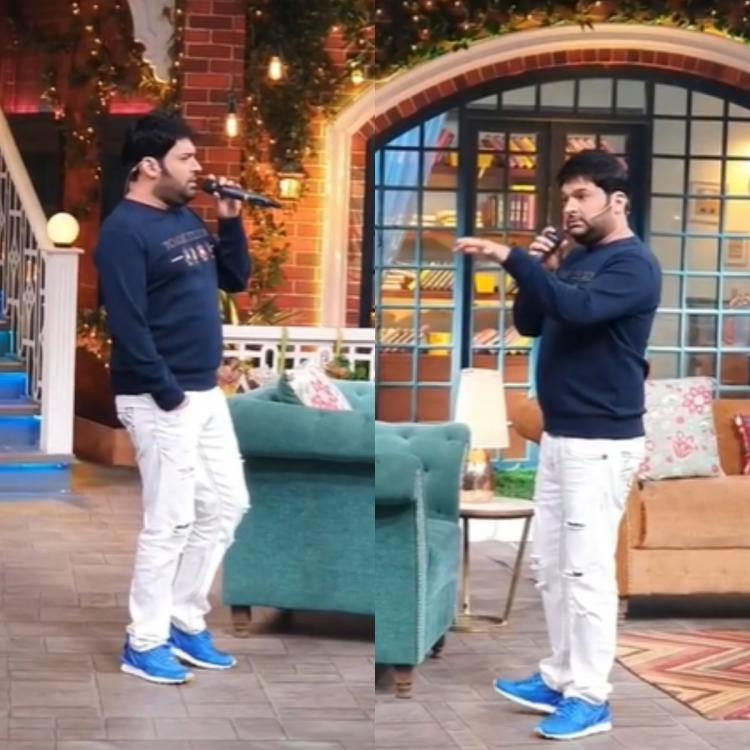 Kapil Sharma sings a peppy track in an OLD video from TKSS; Archana Puran Singh feels he sings 'like a dream'