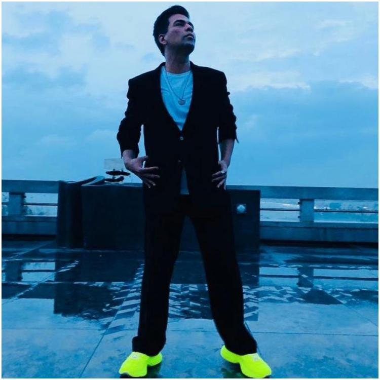 Sonam Kapoor to Ananya Panday, celebs are drooling over Karan Johar's monsoon look with a touch of neon