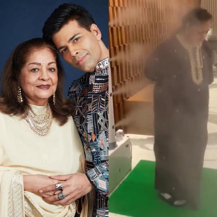 Karan Johar's mom goes through sanitization process after their two staff members test positive