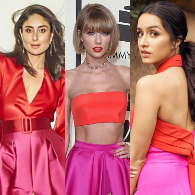 Kareena Kapoor, Taylor Swift to Shraddha Kapoor: When EVERY celeb was in love with the pink & red outfit trend
