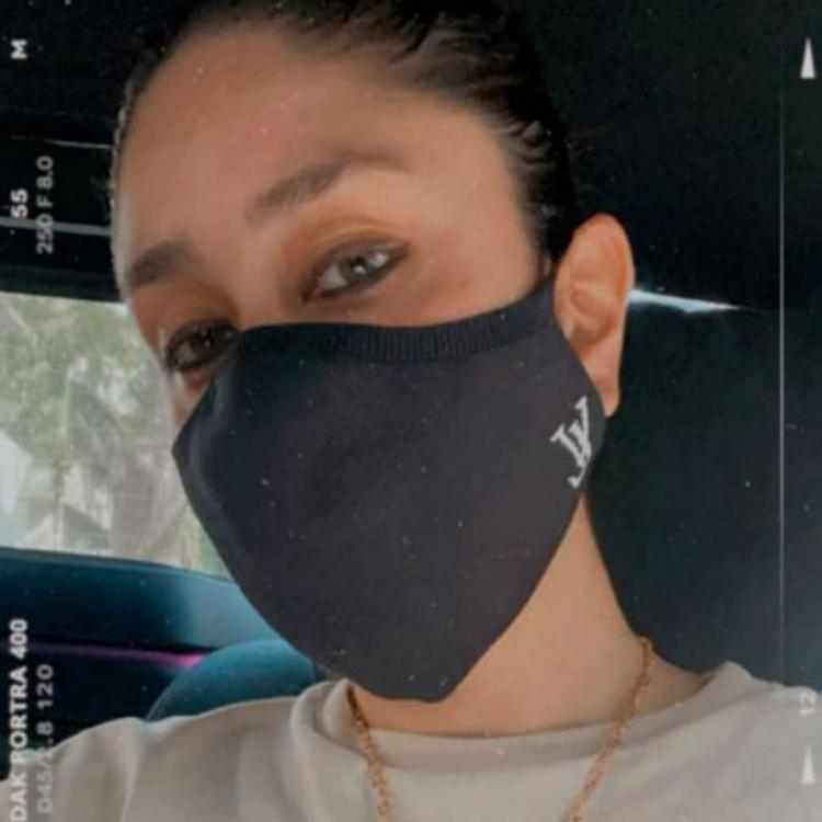Kareena Kapoor Khan urges fans to wear a mask as COVID 19 cases rise in Mumbai; Shares a selfie with her mask