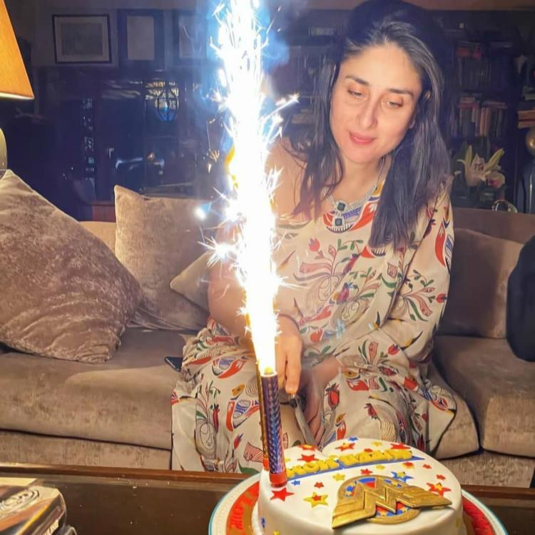 Kareena Kapoor Khan cuts her 'Super Mom' cake in a two piece by House of Masaba; Yay or Nay?