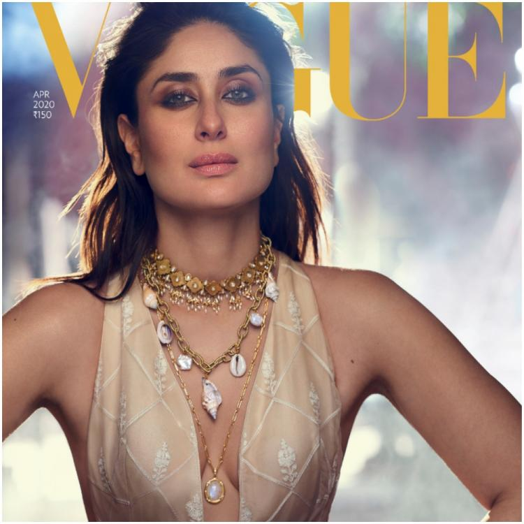Kareena Kapoor nails the plunging neckline like a pro as she stuns on a magazine cover; Check it out