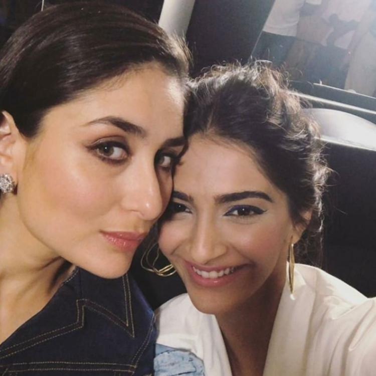 Kareena Kapoor Khan & Sonam Kapoor goofing around in a throwback VIDEO is every BFF ever