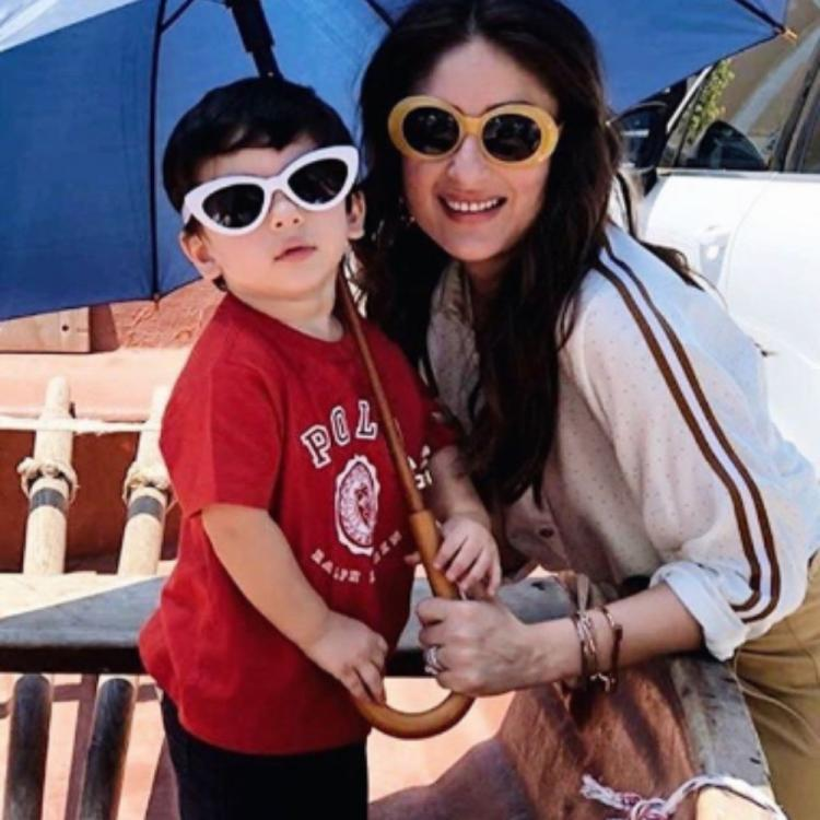 Kareena Kapoor Khan & Taimur make for the coolest mother son duo and their throwback PHOTO is proof