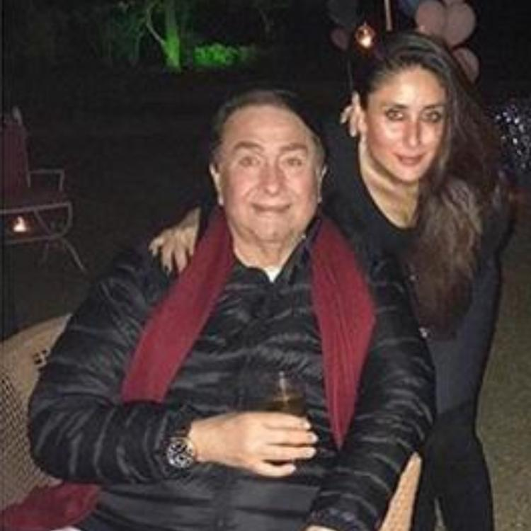 Kareena Kapoor Khan Wishes Handsomest And Bestest Papa Randhir Kapoor On His Birthday With A Throwback Pic Pinkvilla
