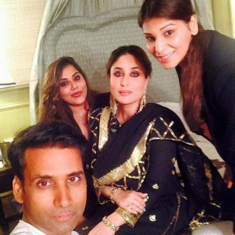 Kareena Kapoor Khan looks stunning in an all black attire as she poses with her glam team in an unseen PHOTO