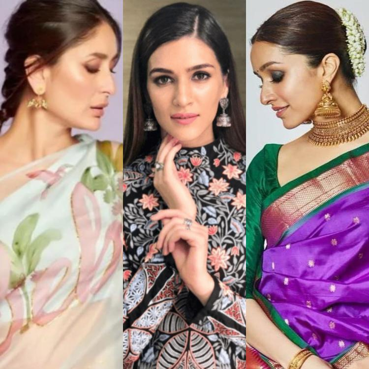 Kareena Kapoor Khan, Kriti Sanon to Shraddha Kapoor: SIMPLE hairstyles that go with traditional outfits