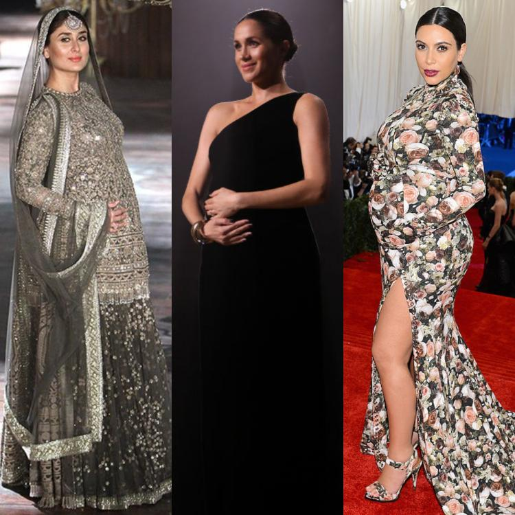From Kareena Kapoor Khan, Meghan Markle to Kim Kardashian West: The BEST maternity style moments of all time