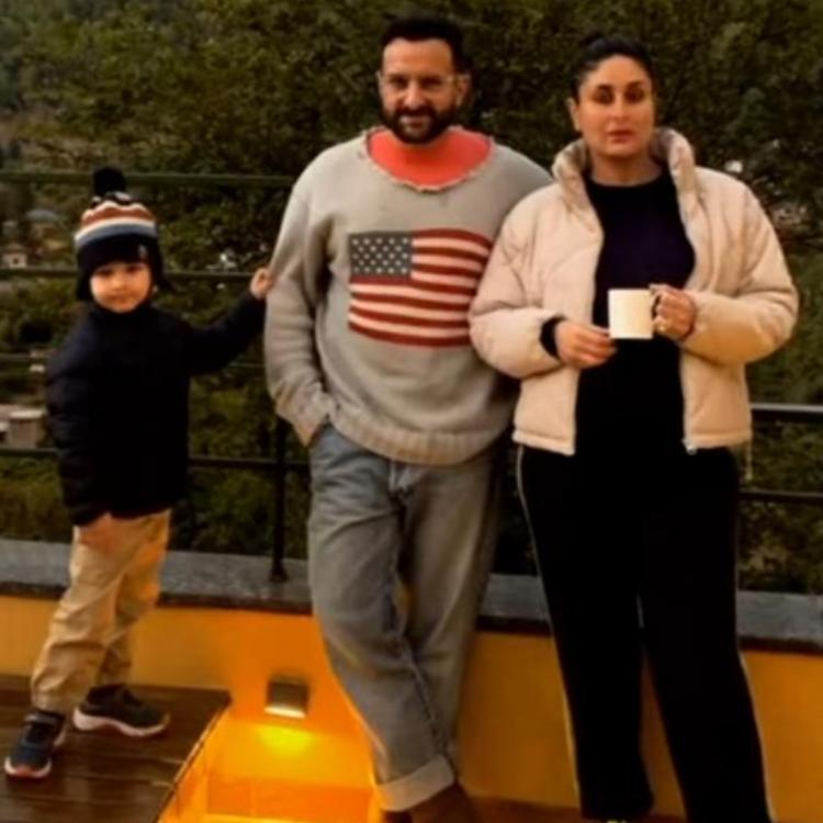 Kareena Kapoor Khan shares UNSEEN pics with Saif and Taimur from her vacation in the hills.