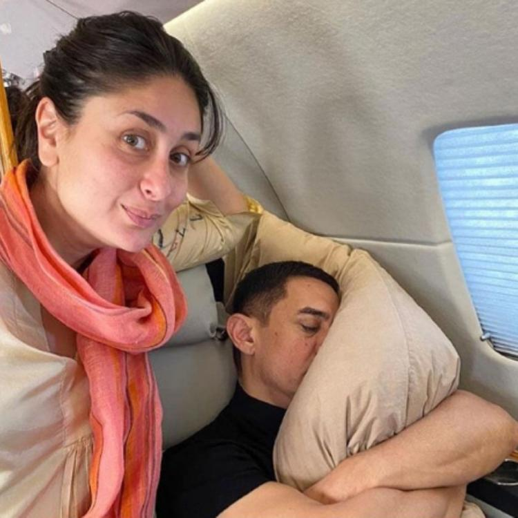 Aamir Khan has the perfect reply to Kareena Kapoor Khan's comment on his pillow & it's super funny; See PIC