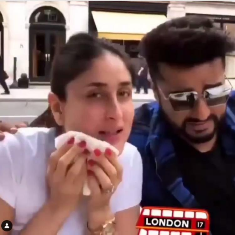 Kareena Kapoor Khan feeling guilty for bingeing on pizza while Arjun Kapoor and others laugh is relatable AF