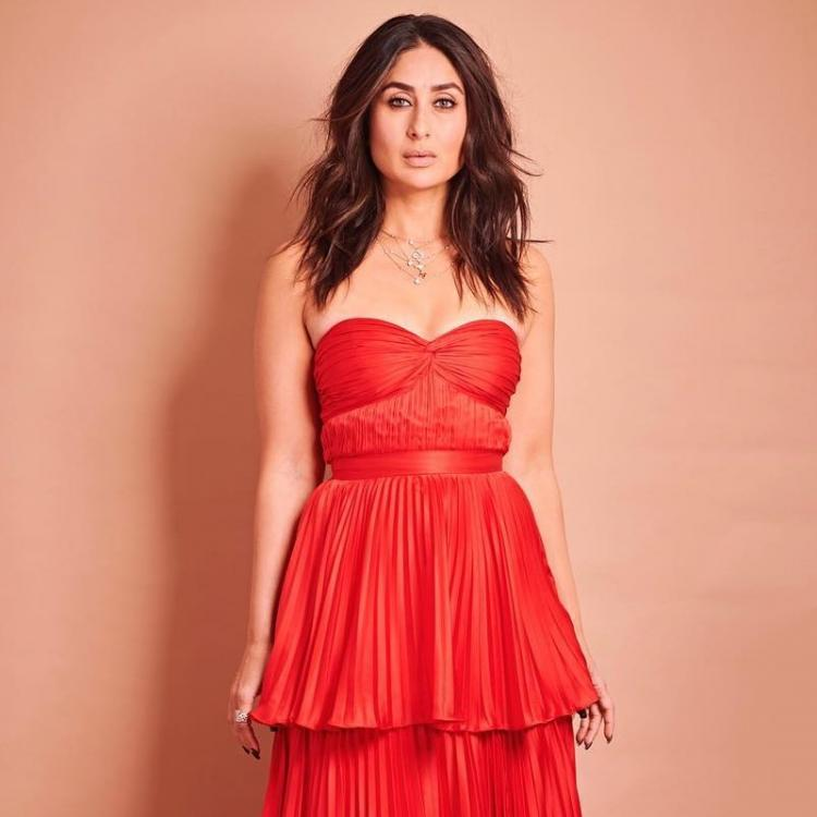 Kareena Kapoor Khan wears a red HOT pleated A Mindful Use of Resources gown for Dance India Dance: Yay or Nay?