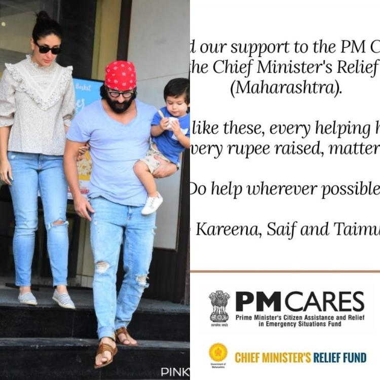 Kareena Kapoor Khan announced her support to PM CARES and Maharashtra CM's Relief Fund. Read note!