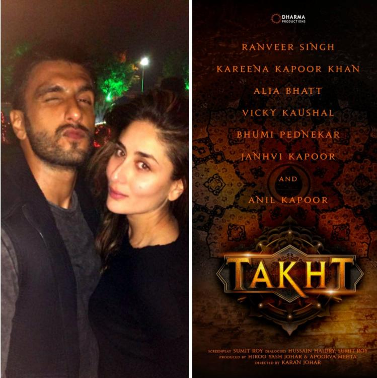 Here's when Ranveer Singh & Kareena Kapoor's Takht will go on floors; to be shot in a start to finish schedule