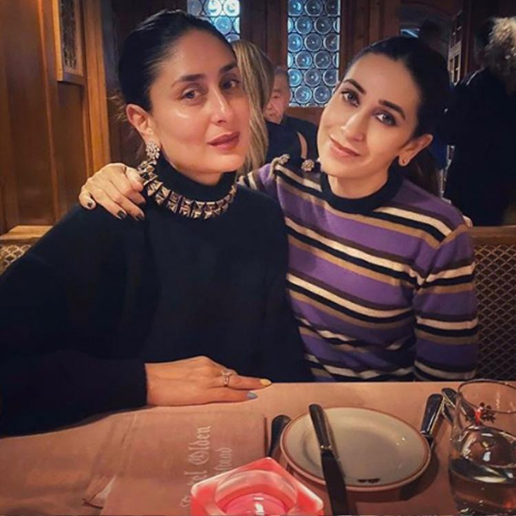 Karisma Kapoor is missing soon to be mommy Kareena Kapoor Khan; Wants her to 'hurry back' home