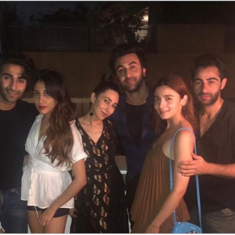 Alia Bhatt enjoys a dinner outing with beau Ranbir Kapoor; Karisma Kapoor misses Kareena Kapoor Khan & Saif