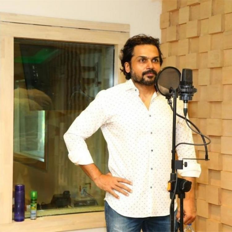Karthi and Rashmika Mandanna's Sulthan: Makers share PHOTOS from post production process