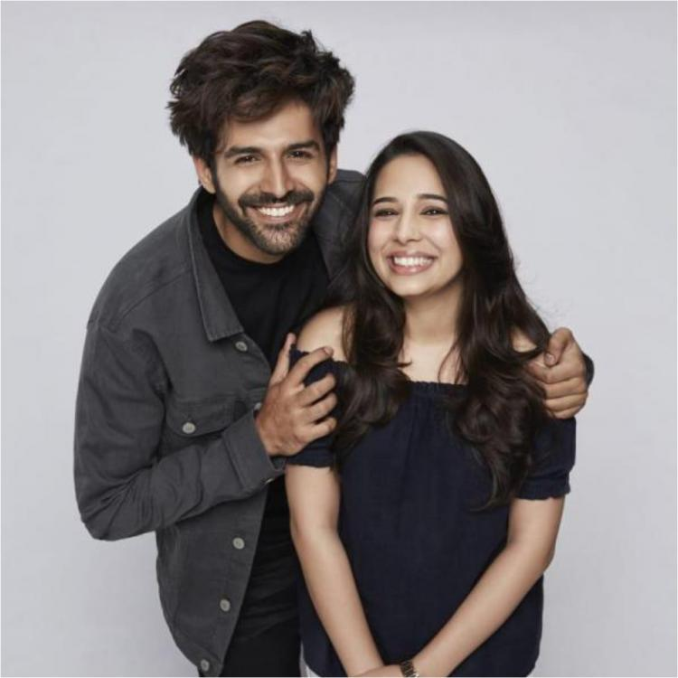 Kartik Aaryan's latest video with sister Kritika called as new PR strategy by Sona Mohapatra; Actor deletes it