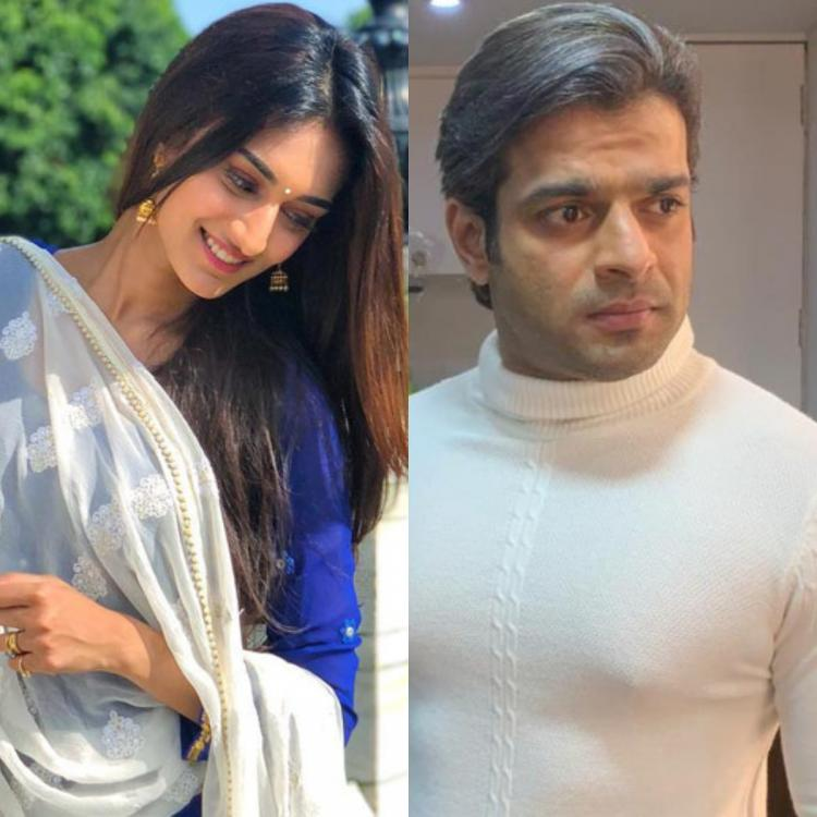 Erica Fernandes and Karan Patel's 'Last Day' shoot for Kasautii Zindagii Kay