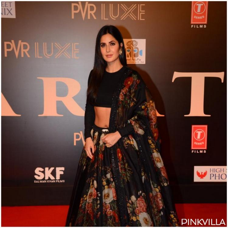 Bharat Premiere: Katrina Kaif knows how to make heads turn as she dons a stunning black lehenga; view PICS