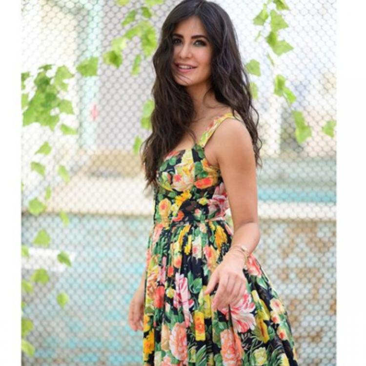 Katrina Kaif dons yet another floral outfit for Bharat promotions but the caption is what stole our hearts