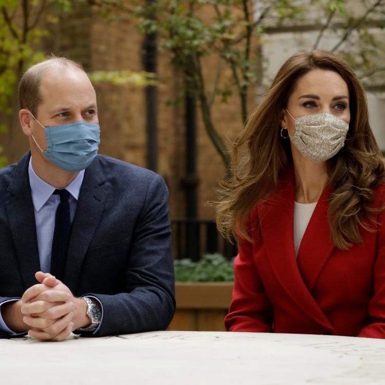 Kate Middleton & Prince William at Remembrance Day Service in London