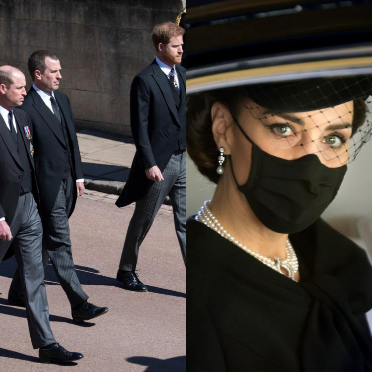 """Kate Middleton speaking to Prince Harry reportedly led to him and Prince William """"visibly relax."""""""