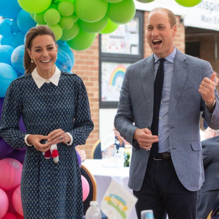 Kate Middleton & Prince William visit a hospital to mark the 72nd anniversary of NHS; See PHOTOS