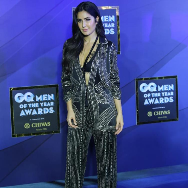 PHOTOS: Katrina Kaif looks stunning in an embellished pan suit for the GQ Men Of The Year Awards
