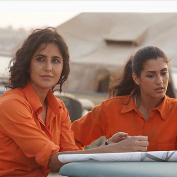 Katrina Kaif shares unseen pictures from the sets of Bharat and fans can't keep calm; view PICS