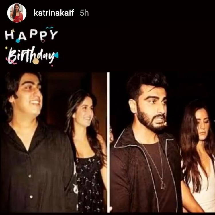 Katrina Kaif and Vicky Kaushal's birthday wish for buddy Arjun Kapoor is all about love and happiness