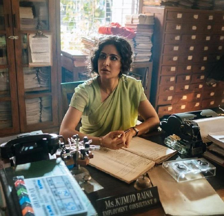 Katrina Kaif gives us a glimpse of her Bharat character Kumud Raina in this new still; Check it out