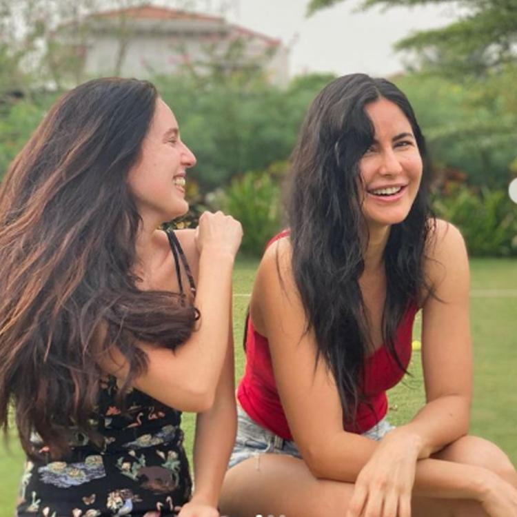 Welcome 2021: Katrina Kaif gets goofy with sister Isabelle as she wishes 365 days of happiness to everyone