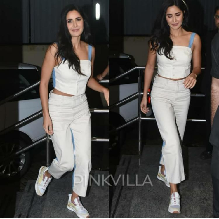 Katrina Kaif's coordinated look is the perfect brunch outfit we have been waiting for; Check it out
