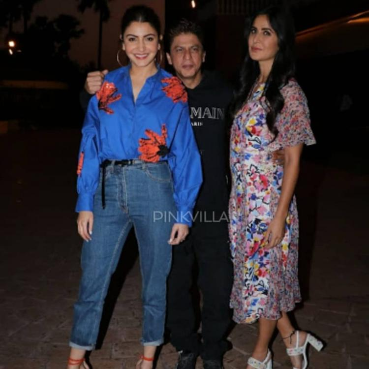 Katrina Kaif, Anushka and SRK make for the perfect trio and these PHOTOS will make you want to see them back