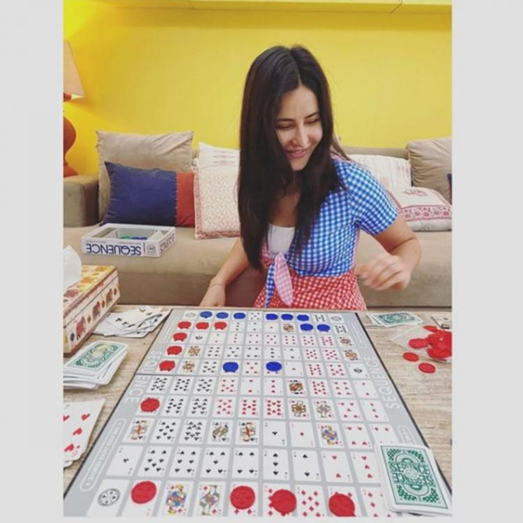 Katrina Kaif being happy about 2 player games is a whole mood and her smile says it all; See PHOTO