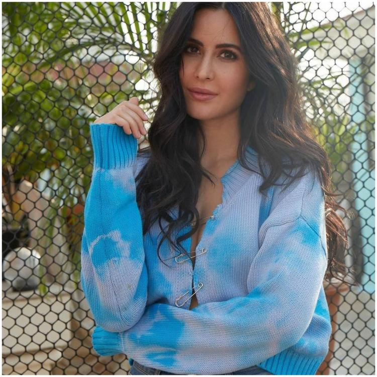 Katrina Kaif makes a statement as she uses 'desi jugaad' on her trendy tie dye sweater; Yay or Nay?