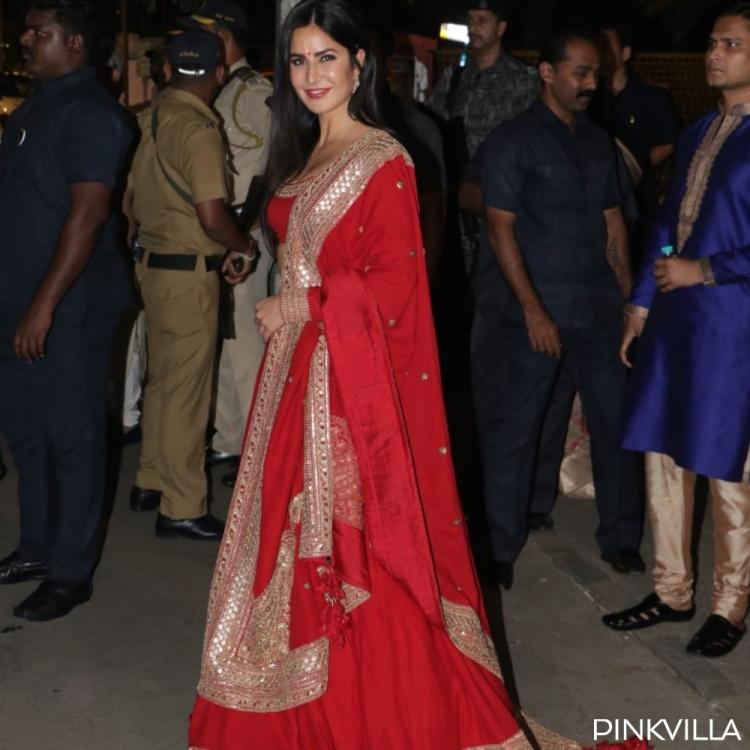 Katrina Kaif owns red like no other Bollywood beauty and these photos of the Bharat actress are proof