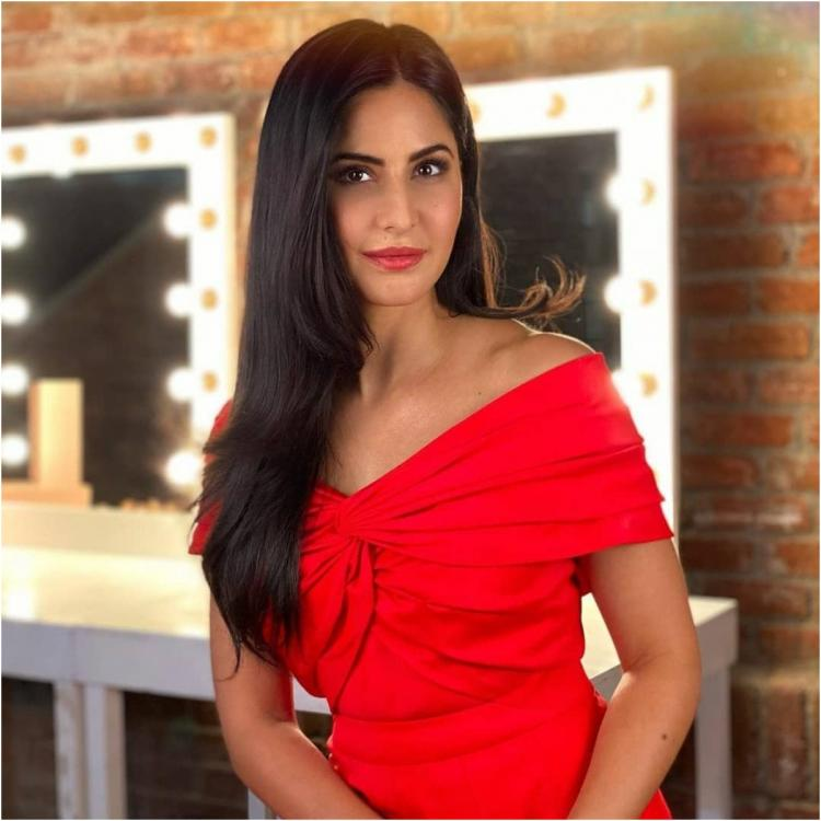Katrina Kaif looks fresh as ever as she dons a classic red dress by Saffron; Yay or Nay?