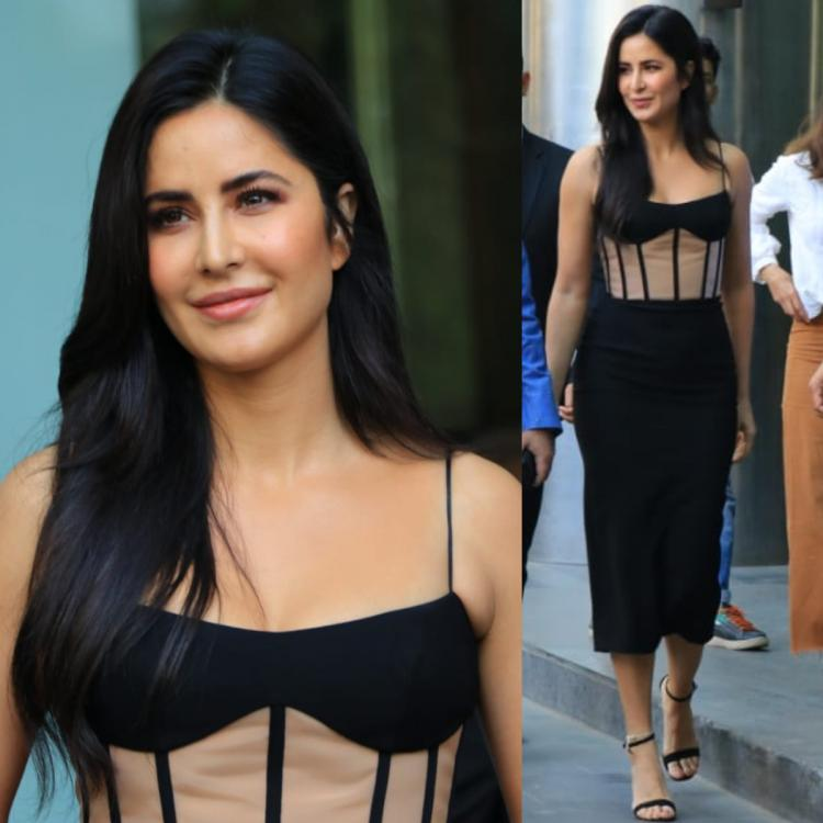 Katrina Kaif is the ULTIMATE black beauty in a corset style dress perfect for a night of clubbing: Yay or Nay?