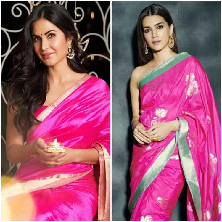 Kriti Sanon to Katrina Kaif: 3 Times celebs kept things simple and elegant in a silk saree