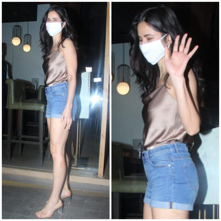 Katrina Kaif shows us how to dress up for a summer party as she steps out for dinner in the city; Yay or Nay?
