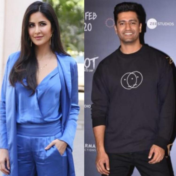Katrina Kaif & Vicky Kaushal trend as netizens flood Twitter with memes after Harsh Varrdhan's dating comment.