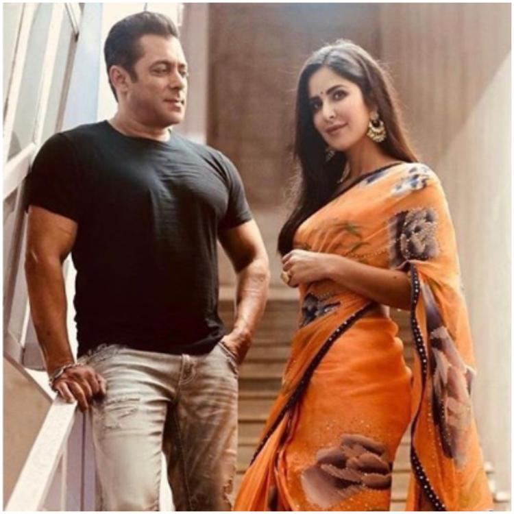 Salman Khan shares picture with Katrina Kaif and the rhyming caption is what has all our attention