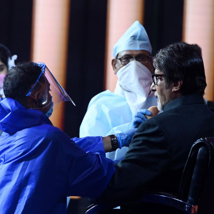 Kaun Banega Crorepati 12: Amitabh Bachchan gives a glimpse of precautions being taken on the sets; See Post