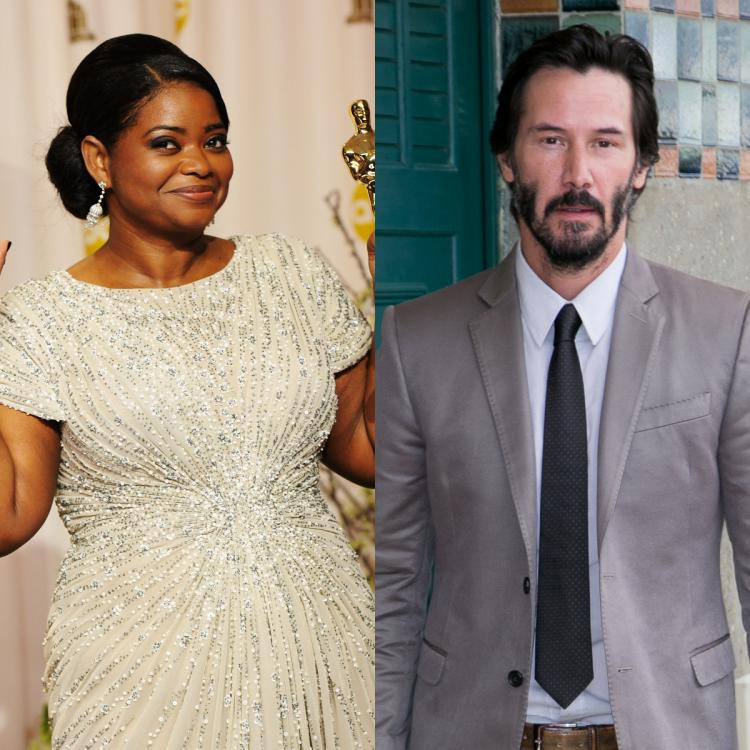 Keanu Reeves: The reason why Octavia Spencer never misses his movies