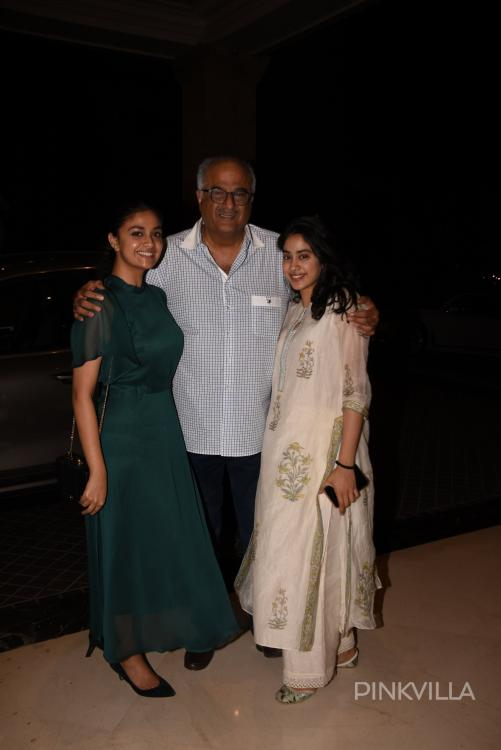 Photos: South star Keerthy Suresh parties with Janhvi Kapoor ahead of her big Bollywood debut